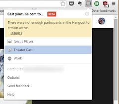 cast extension android some chrome users can now cast tabs directly to hangouts