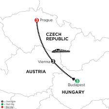 Metro Viena Map budapest vienna u0026 prague vacation package monograms