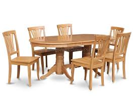 Dining Rooms Chairs East West Furniture Vancouver 7 Piece 76x40 Oval Dining 7 Pc Oval