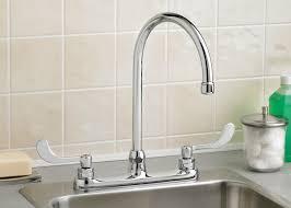 astounding silver color metal kitchen sink faucet black rubber