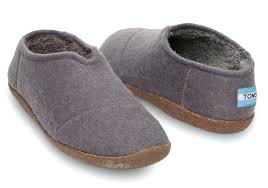 Womens Bedroom Slippers Grey Womens Slippers Womens Felted Slippers Nautical With Colour