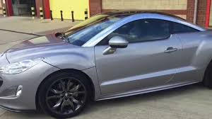 peugeot rcz black peugeot rcz 200 bhp black edition youtube