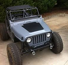 2006 tj jeep wrangler amazon com jeep wrangler tj 1997 2006 blackout decal matte