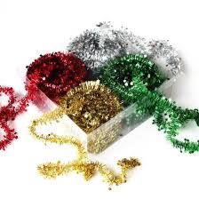 tinsel garland tinsel garlands 10m bright ideas crafts