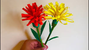 Flowers Decoration For Home Rolled Paper Flowers Handmade Paper Crafts For Home Decoration