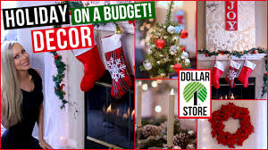 easy and affordable holiday decor dollar store decorating ideas