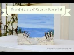 Painting 101 Basics Diy by Fireside Beach Step By Step Acrylic Painting On Canvas For