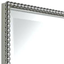 framed bathroom mirrors brushed nickel bathroom wall mirrors brushed nickel a brushed nickel frame for