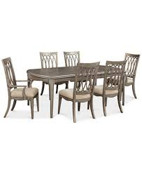 Macy S Dining Room Furniture Eye Catching Ripa Home Hayley 7 Pc Dining Set Table 4 Side
