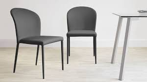 Contemporary Dining Chairs Uk Wonderful Contemporary Modern Fully Upholstered Faux Leather Chair