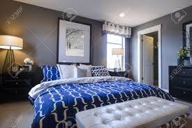 chambre bleu et blanc chambre bleu et blanc galerie et chambre mur bleu les meilleures
