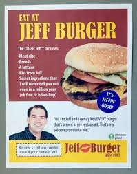 Hamburger Memes - eat at jeff burger funny