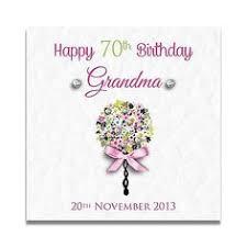 handmade personalised grandma nanny mum sister 60th 70th 80th 90th
