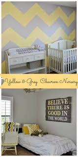 diy chevron nursery painted confetti