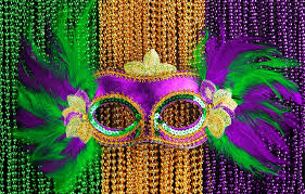 green mardi gras mask purple green gold color match helm paint decorating