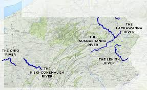 Pennsylvania Map With Cities And Towns by 2016 River Of The Year Nominees U2013 Pennsylvania River Of The Year