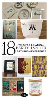 harry potter bathroom accessories do it your freaking self 18 items for a magical harry potter