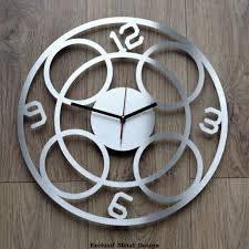 pendule de cuisine design pendule moderne cuisine finest gufan d diy pendule murale moderne