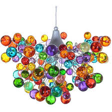 multi colored light fixture multicolored bubbles lighting fixtures hanging l with different