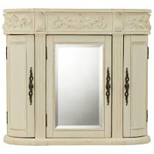 3 Door Bathroom Cabinet Antique Mirrored Bathroom Wall Cabinet Bathroom Mirrors