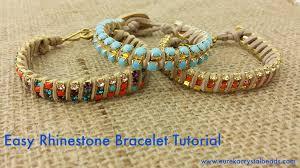rhinestone chain bracelet images Fancy plush design cool bracelets to make best 25 easy friendship jpg