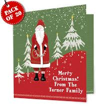 personalised printed christmas cards christmas lights decoration