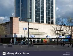 Blackburn Flags Blackburn Shopping Centre Lancashire England Uk Stock Photo