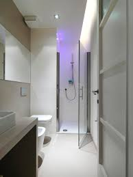 modern bathroom with shower cubicle royalty free stock images