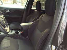 jeep interior seats review 2016 jeep cherokee latitude delivers affordable capability