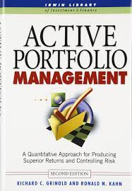 active portfolio management a quantitative approach for producing