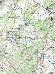 Topographic Map Of Colorado by Bedford County Pennsylvania Map
