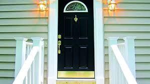 Exterior Door Kick Plate Kick Plates For Front Doors Black Exterior Door With Gold Hardware
