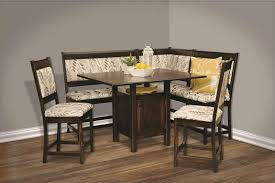 high country counter height nook dining set from dutchcrafters amish