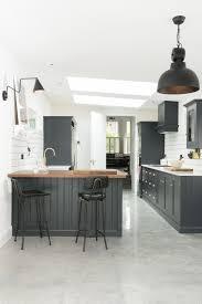 image result for natural timber built in kitchen dresser against