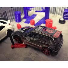 honda civic ef9 diecast model car auto lift garage accessory