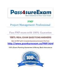 pmp project management professional pass pmp exam with 100