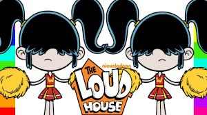 coloring lucy loud cheerleader the loud house nickelodeon