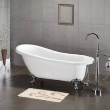 Bathtubs 54 Inches Long Clawfoot Tubs Acrylic U0026 Cast Iron Clawfoot Bathtubs