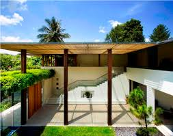 modern house plans with courtyard design modern house design