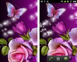 glitter wallpaper with butterflies glitter rose wallpaper apk download latest version 10 00 com