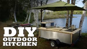 diy outdoor kitchen youtube