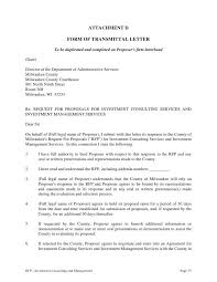 letter of transmittal example proposal transmittal letters 5