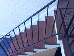 Buy A Banister Suggestions To Update Wrought Iron Stair Railing Without Replacing