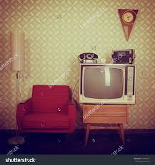 old fashioned home decor 70s stock photos images pictures shutterstock vintage room with