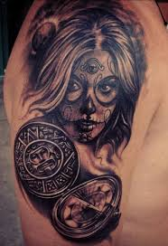 120 best day of the dead tattoo images on pinterest tattoo