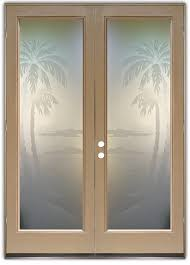 etched glass doors desert palms i 3d etched glass doors western decor style