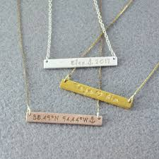 bar plate necklace images Personalized necklace engraved name bar necklace name plate jpg