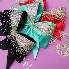 cool hair bows best 25 sparkly cheer bows ideas on cheerleading bows