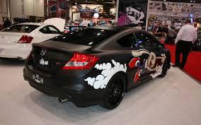 norm reeves honda toy drive 2012 honda civics 2011 sema show motor trend