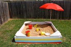 Backyard Sandbox Ideas Backyard Sandbox Made Everyday